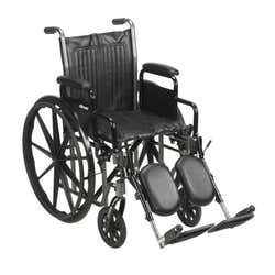 McKesson - Wheelchair Desk Length Removable Arm, 16 Inch Seat Width - 250 lb Capacity
