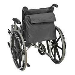 Mabis Healthcare - Wheelchair Bag - Water Resistant Nylon Fabric