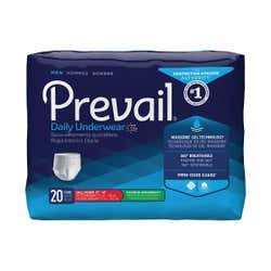 First Quality - Prevail Male Daily Underwear Pull On - Small/Medium - 80 Count