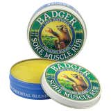Badger Sore Muscle Rub - Cooling Blend - 2 oz tin