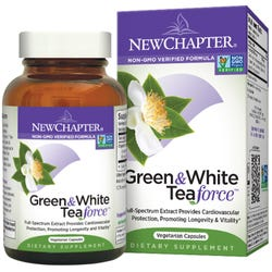 New Chapter - Green & White Tea Force - 30 Capsules