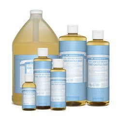 Dr. Bronner's - Baby Unscented Castile Liquid Soap - 1 Gallon