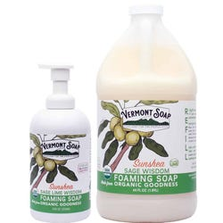Vermont Soap - Organic Foaming Hand Soap (Sage Lime Wisdom)