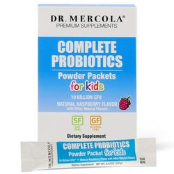 Dr. Mercola - Complete Probiotics for Powder Packets for Kids (10 Billion CFU) - 30 Packets
