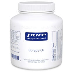 Pure Encapsulations Borage Oil 1,000mg 180 Softgels
