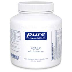Pure Encapsulations +CAL+ with Ipriflavone 210 Capsules