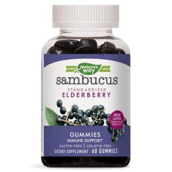 Natures Way - Sambucus Gummies - 60 Gummies