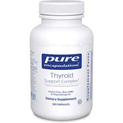 Pure Encapsulations Thyroid Support Complex - Free Shipping - 120 Capsules