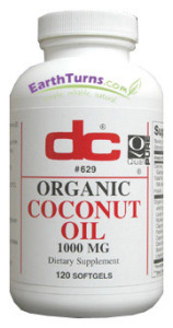 DC Labs Coconut Oil softgels